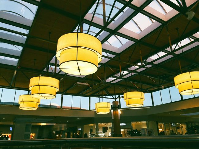 Lights. Yellow Low Angle View No People Illuminated Indoors  Day Interior Interior Design Interior Views Interior Decorating Style Aesthetics Aesthetic Aesthetically Pleasing Lighting Equipment Lamps And Lights. Luxerylife Luxurylife Low Angle View