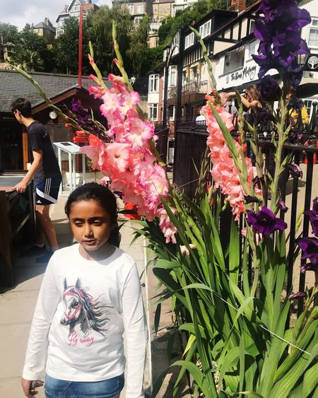 Amelia Miah Plant One Person Real People Flowering Plant Flower Portrait Looking At Camera