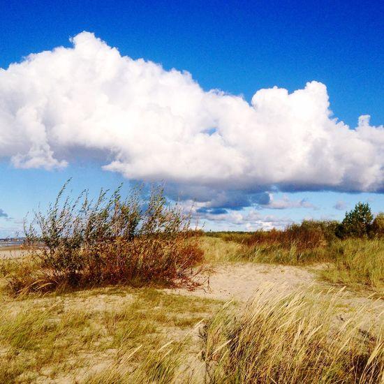 Jurmala Seaside Clouds And Sky