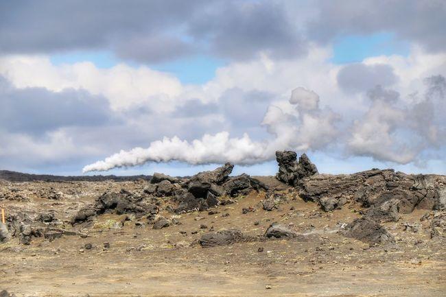Outdoors Day Landscape Cloud - Sky Hotspot HotSpringsNationalPark Reykjanes Geopark Clouds And Sky Dramatic Sky