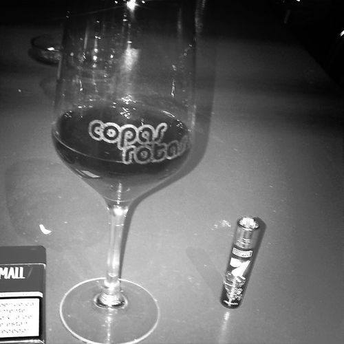 Copas Rotas Red Wine Tobaco Relaxing
