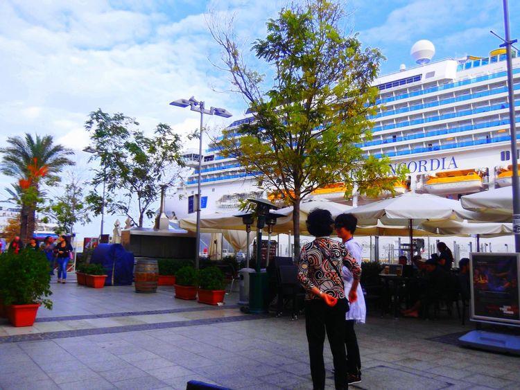Cruise Ship Costa Concordia weeks before the disaster Malta EyeEm Best Shots EyeEm Italy Honeymoon Infamous
