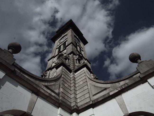 Clock Ttower. North London. 21-03-16 North London Clock Clock Tower London Zuiko Olympus Stevesevilempire Steve Merrick