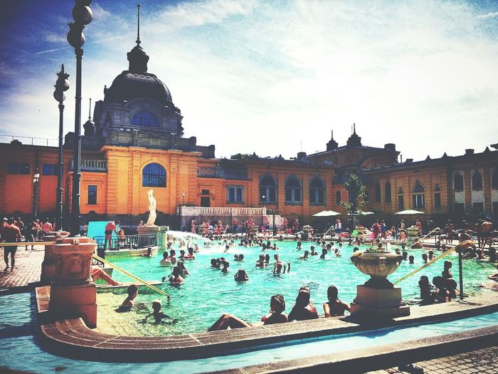 Spa Summer2015 Relaxing Budapest Hungary
