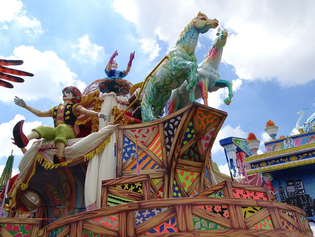 ezefer Architecture Art Arts Culture And Entertainment ArtWork Carnaval Carnaval2017sp Carnival Chinese Dragon Cloud - Sky Cultures Day Low Angle View No People Outdoors Sculpture Sky