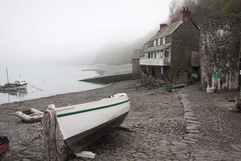 """""""Misty Harbour"""" Fog Foggy Sea Dawn England Weather"""