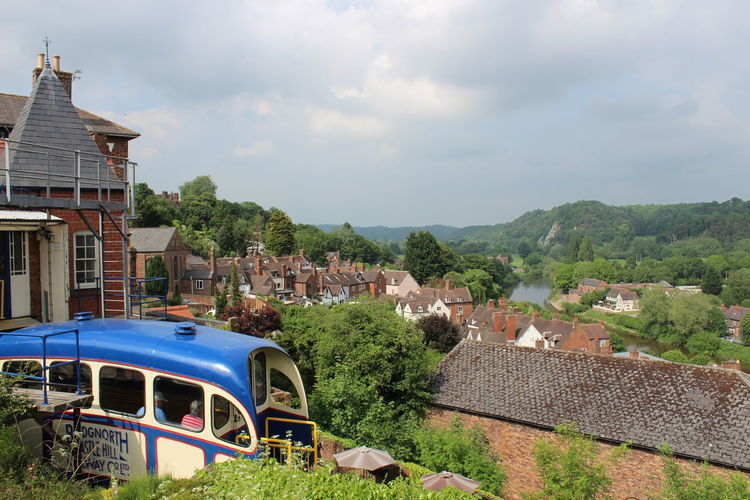 Cliff Railway Bridgnorth Mode Of Transportation Motor Vehicle Town Train Train - Vehicle Transportation