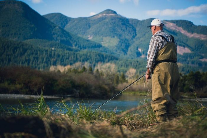 Fly Fishing on the Chehalis River outside Chilliwack Bc