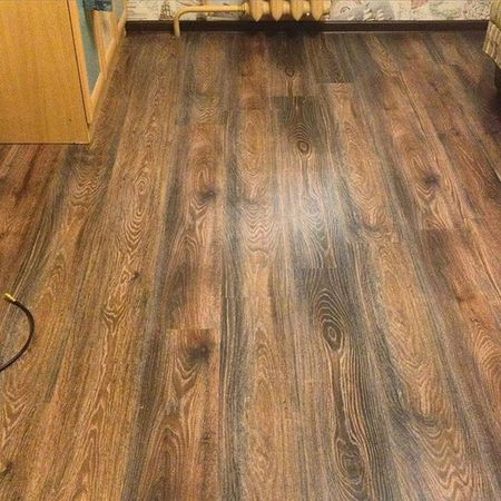 New floor in the room of my child. ремонт ламинат своимируками новыйпол пол