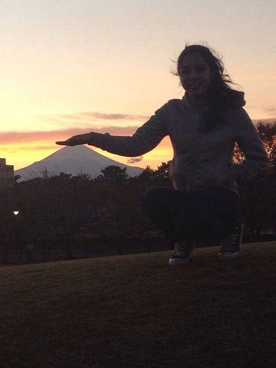 The little gigant Fujiyama. Taking Photos Nature That's Me Hello World