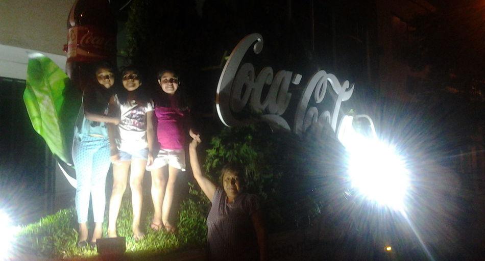 Coca-Cola loves us ♥ Cocacola Taking Photos Enjoying Life