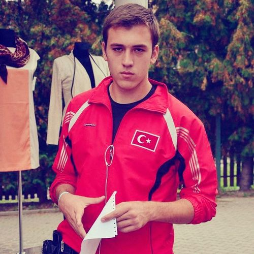 Handsome Man Boy LC Champion Wako Europe Kickboxing Team Turkey