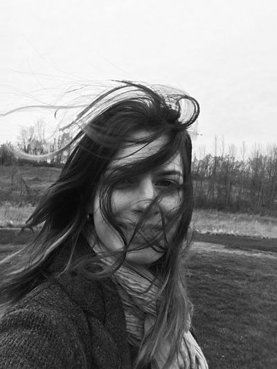 Wanderer See Me Average Blown Ansel Adams Inspired Hair Enjoying Life Windy Wind Loving Life! Contrast Great Outdoors Blown Away That's Me Feeling Free Let Your Hair Down Portrait Of A Girl Eyeemphotography EyeEm Best Shots - Black + White Outside Photography Woman Portrait