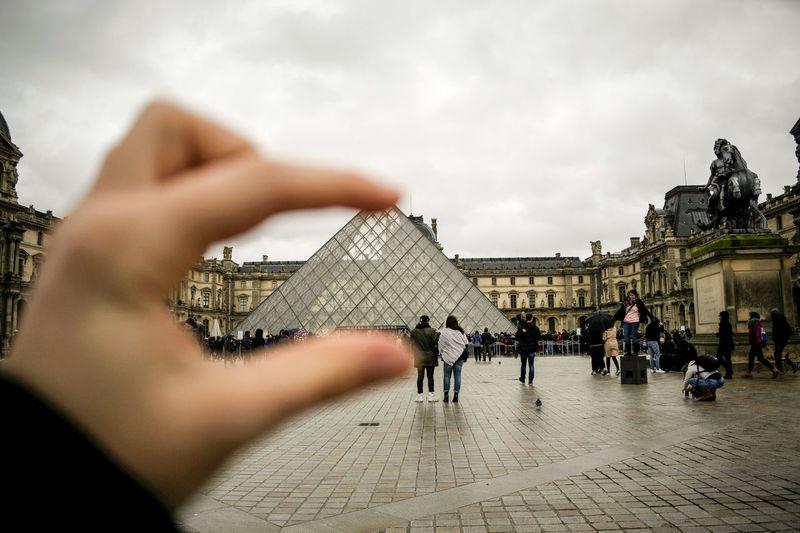 perspective France Lovre Paris