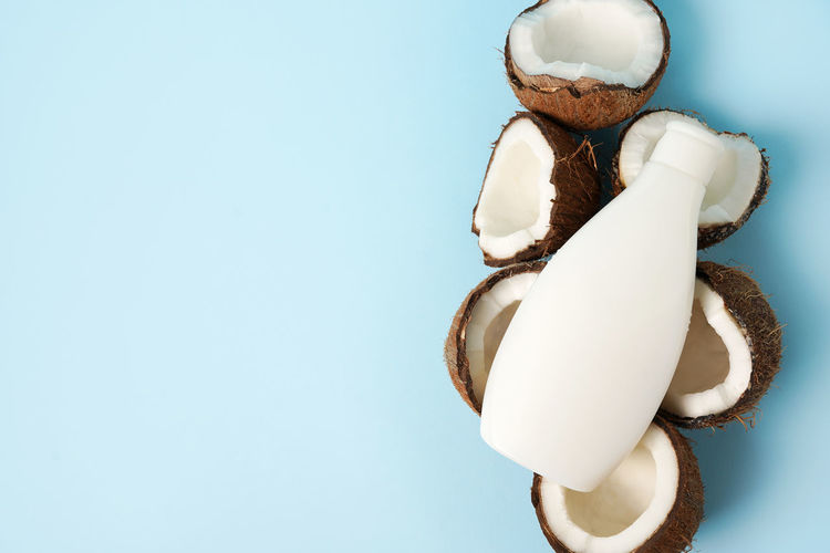 Close-up of stuffed toy against white background