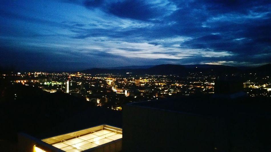 Dayandnight Sunday Evening Graz@night  Autumn🍁🍁🍁 Cloudandsky