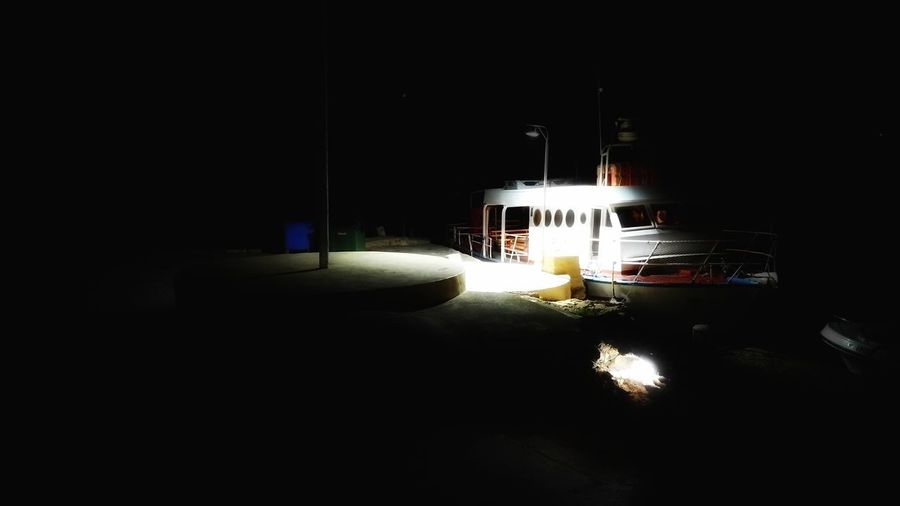 Night Ship Boat
