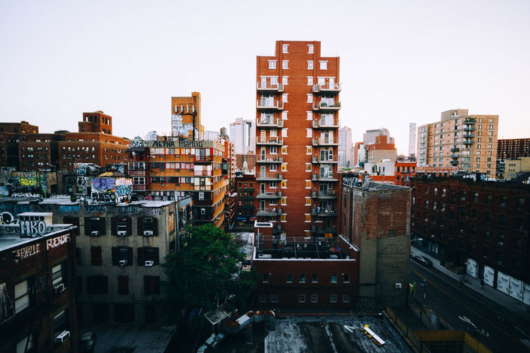 City City Life Cityscape Colors Exploring EyeEm EyeEm Best Shots Manhattan NYC Skyline Apartment Architecture Building Exterior Built Structure City Cityscape Day Downtown District Modern No People Outdoors Skyscraper Summer Sunset Travel Destinations