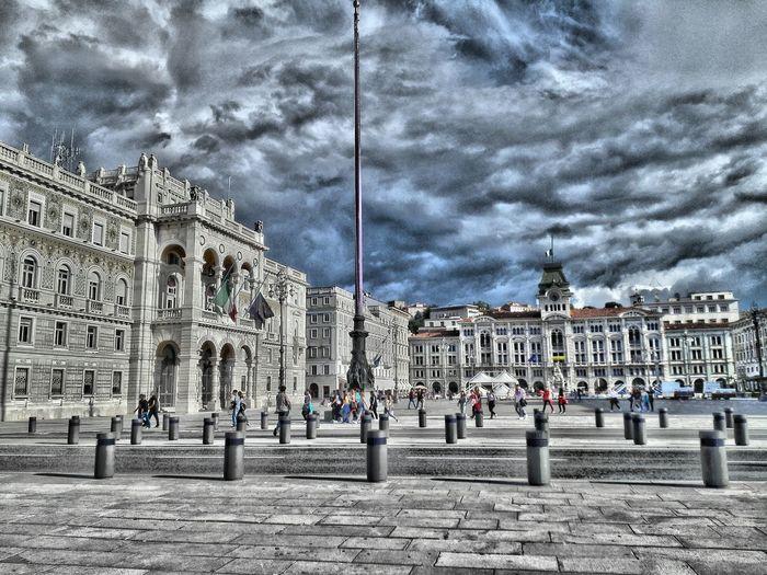 Piazza Unita' d'Italia Trieste Italy Trieste Trieste2016 Triestephotodays Triestestreetlife Triesteraccontatrieste TriesteSocial