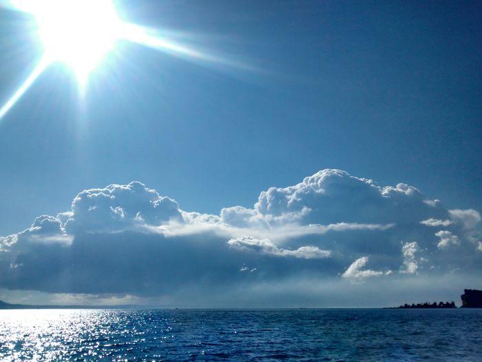 April Sky Sea