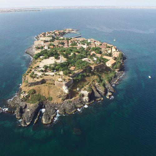 Goree Island Dakar 2017 High Angle View Dronephotography Mavicpro First Eyeem Photo
