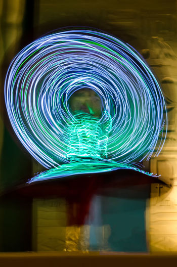 Tanoura Dance Dance Duabi Global Village Dubai Illuminated Light Painting Light Trail Long Exposure Motion Multi Colored Night Performance Speed Tanoura Tanoura Dance Whirling Whirling Dervishes