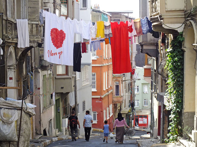 ArtWork Beyoğlu Building Clothing Documentary Flag Istanbul Photo Photographry Photogrpher Talabaşı Türkiye 💙💛 First Eyeem Photo