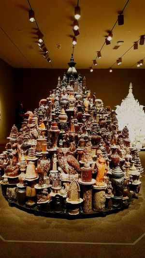 Large Group Of Objects Arrangement Collection Decoration Illuminated Art Museum Arts Culture And Entertainment Smithsonian Institute Art Gallery Art Indoors  Statue ArtWork Creative Light And Shadow
