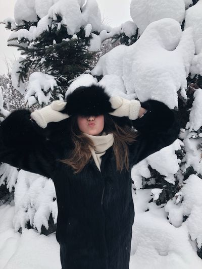 Takie dela❣️❄️ Hello World New Year Winter Snow Leisure Activity Real People Nature