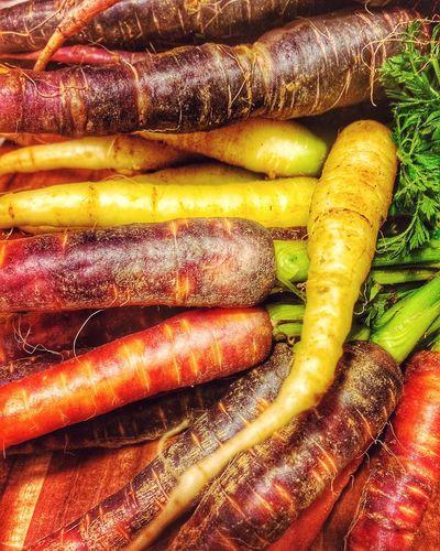 Carrots Carrot Colors Colorful Veggies Veggie Karotten Obst & Gemüse Vegetables