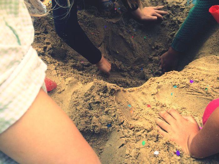 Finding Treasure Finding Treasure Treasures Escavator Digging DiggingDirt Sand Unlikely Heroes
