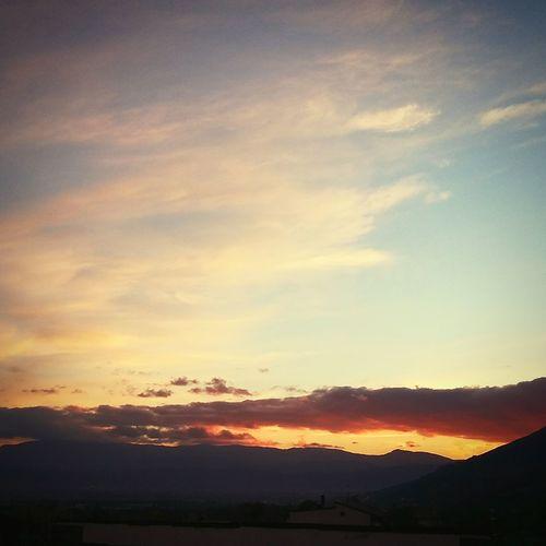 Sunset can save people sometimes... Sunset #sun #clouds #skylovers #sky #nature #beautifulinnature #naturalbeauty #photography #landscape Feelingyourself Mademethinkofyou First Eyeem Photo