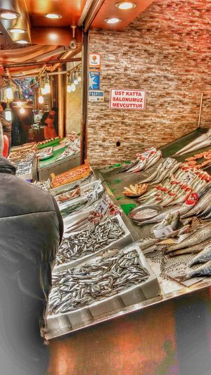 Balık Market Street Photography Istanbul City Straßenfotografie Türkei Istanbul Turkey Street Life Sea Travel Outdoors Türkiye ıstanbul Fish Fischmarkt Retail  Text Business Market Stall Choice Store Price Tag No People Food Supermarket