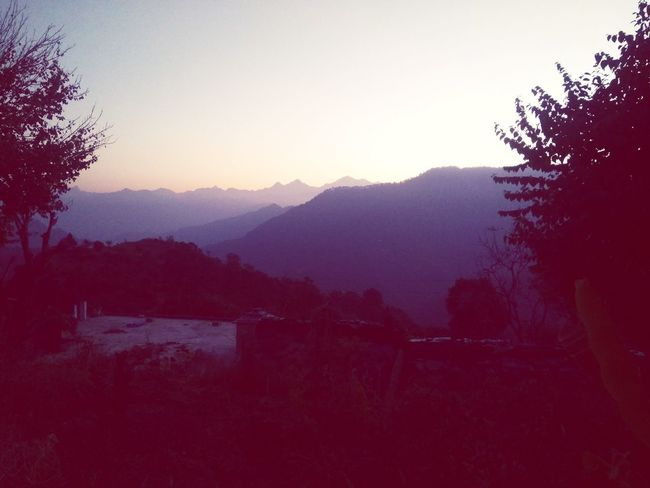 Best Photos Sunrise Dawn Garhwal Himalayas Yudhvir Nature Beauty In Nature Outdoors Forest Fog No People Mountain