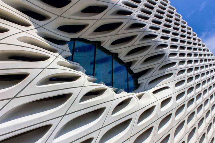 Architecture Broad Diller Scofidio + Renfro Los Angeles, California The Architect - 2018 EyeEm Awards The Broad Museum Archidaily The Broad