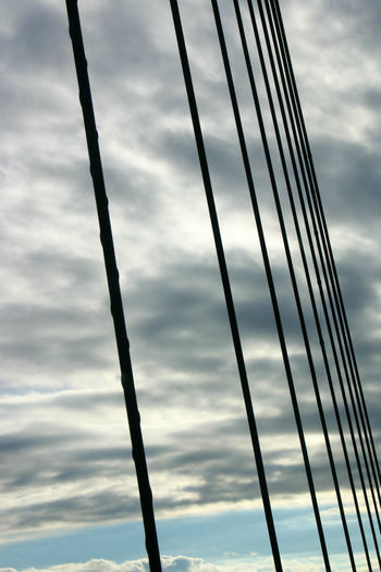 Adapted To The City the Sky Through Cables of the øresund Bridge between Denmark and Sweden öresundsbron Abstract Abstract Photography Abstract Art Abstractarchitecture Abstractions Abstract Backgrounds Abstract Architecture Abstractlovers Abstract Expressionism Abstraction Abstractart Abstrakt Straight Lines Lines In The Sky Lines Black Lines Geometric Lines Geometries Geometric Abstraction Minimalist Architecture