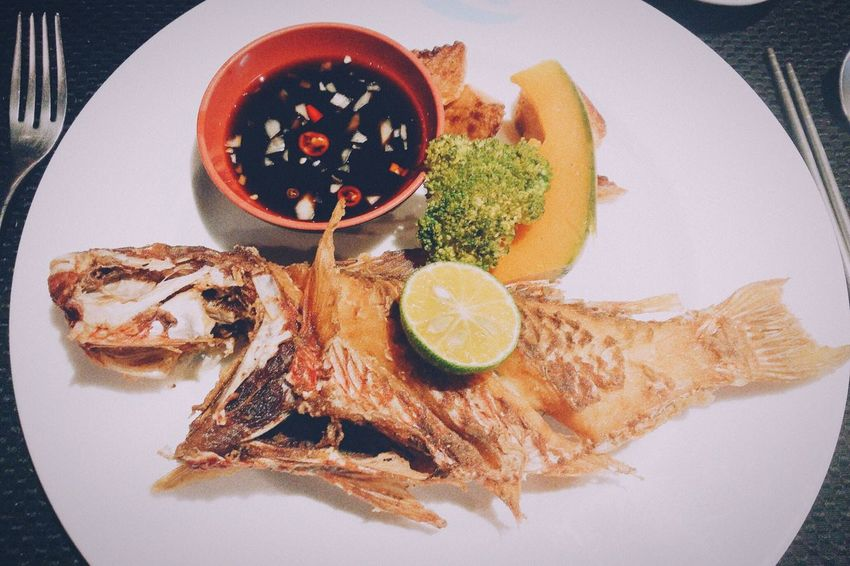 Fried Fish Cuisine Delicious DeliciousFood