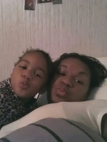 "me and my lil booger mani "")"