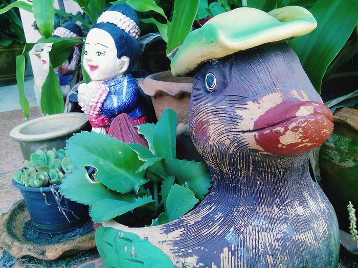 No People Day Doll Outdoors Green Garden Duck Duck Doll Welcome