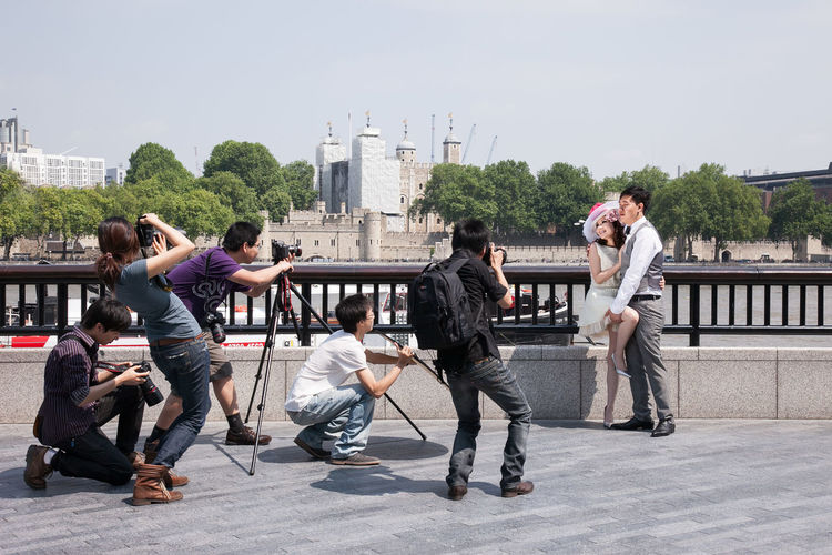Photo shoot at More London area near Tower Bridge in London, UK Asian  City Couple Engaged Engagement London Lifestyle Photo Shoot Horizontal Love Medium Group Of People Models Newlyweds Outdoors Photographers Photographers In Action Photoshoot Posing Shooting Photos Street Photography Streetphoto Streetphotography Wedding Wedding Photography Young Adult Young Women