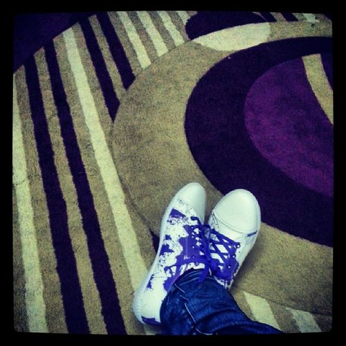 In love with this shoe <3 Newshoe Purple