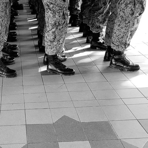 Shadow And Light Boots Army Boots NSmen Going Into Camp Army Camp Sg_streetphotography Streetphotography Singapore