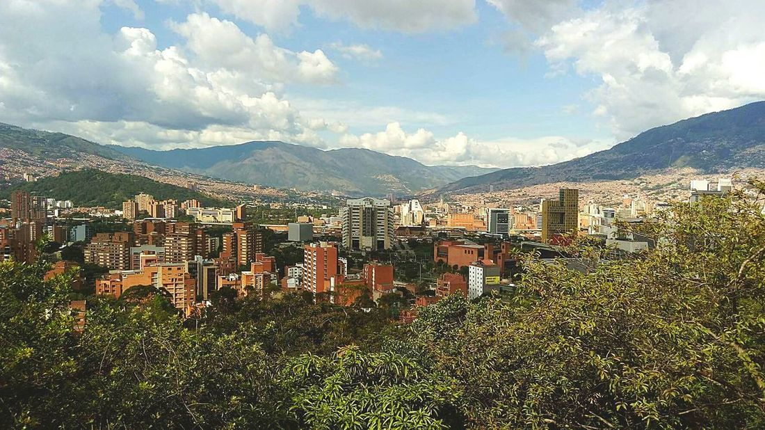 Cityscape Medellincolombia 💜 Sky Nature Urban Skyline Antioquia Pueblito Paisa Medellin City Architecture Citytravel Colombia Travel Photography EyeEmNewHere