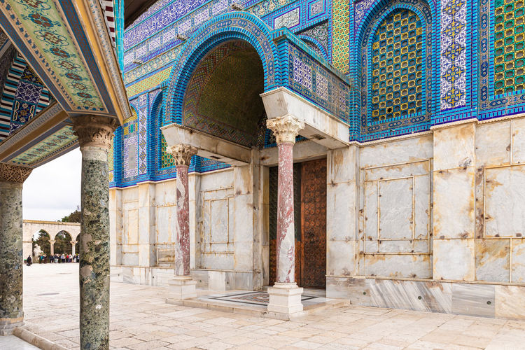 Exterior of mosque