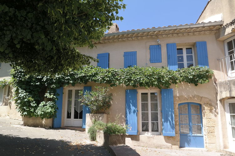 Architecture Blue Country Life Countryside House Lourmarin Provence