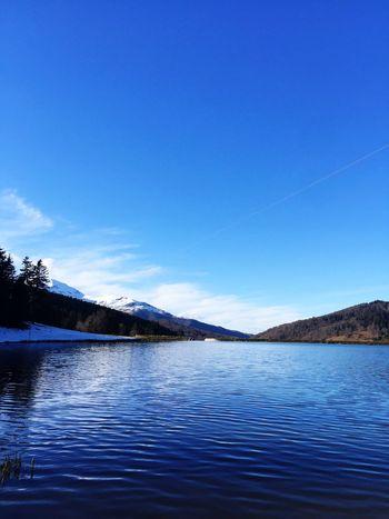 Beauty In Nature Scenics Blue Tranquil Scene Nature Tranquility Lake