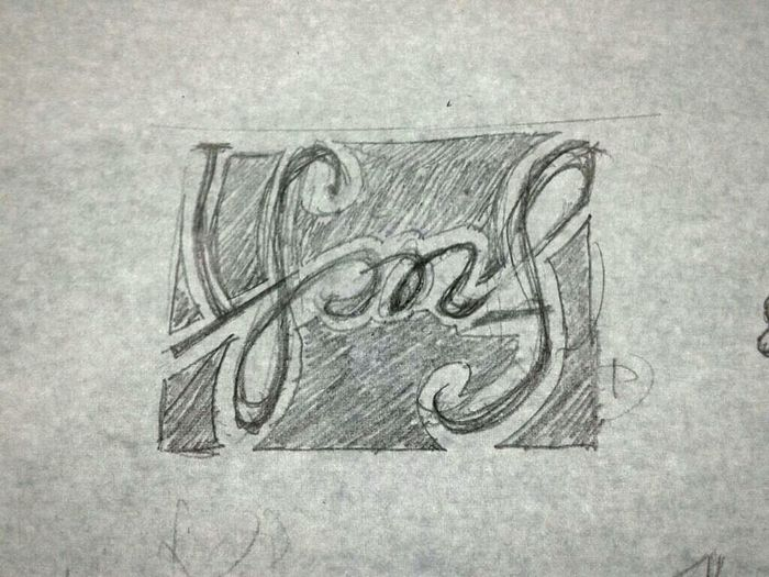 Drawing Sketch Typography Guess What ...?