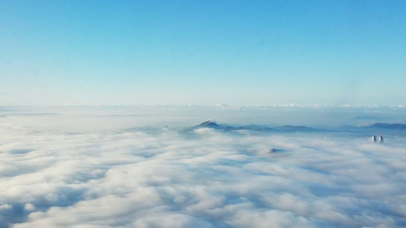 Sea of clouds Beauty In Nature Cloud - Sky Nature Aerial View Cloudscape Clouds And Sky Blueclouds Clouds