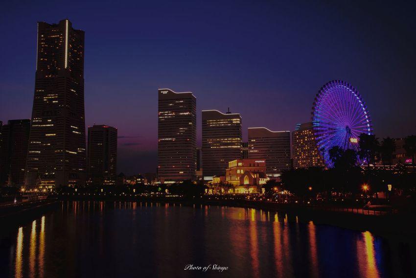 時間帯によって全然印象変わる! Sky Night City Picture Photography Photo Nikon D750 Nikonphotography Nikon Tokyo,Japan Tokyo Japanese  Japan Photography Japan Nikonphotographer Photographer 夜景 みなとみらい 写真 ファインダー越しの世界 写真好き 写真好きな人と繋がりたい 東京 ニコンd750 日本 Mix Yourself A Good Time