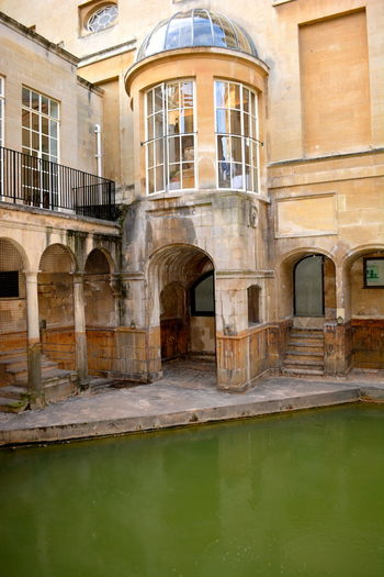 Roman Baths, Bath, England Ancient Architecture Ancient City Ancient History Bath Spa Bath, England Healing Waters Roman Baths. Roman Empire Roman Ruins